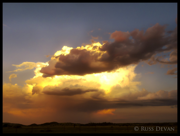 Thunderstorm Over Great Plains