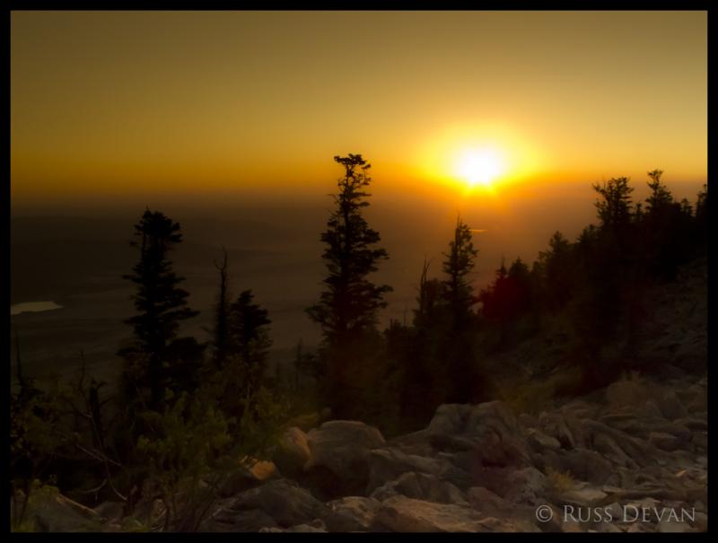 Sunrise, Shaefers Peak