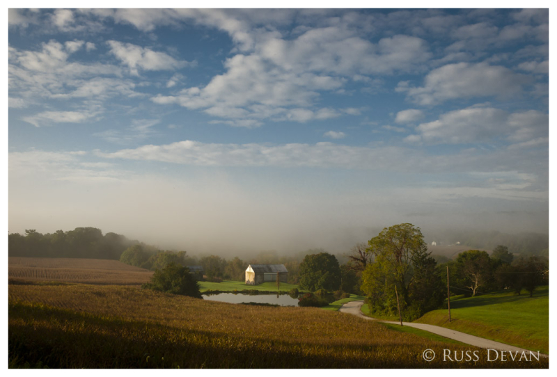 Fog In The Valley, North Coventry