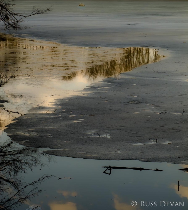 Ice-Up on Green Lane Reservoir