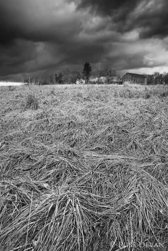 Storm Over Walnut Hill Farm