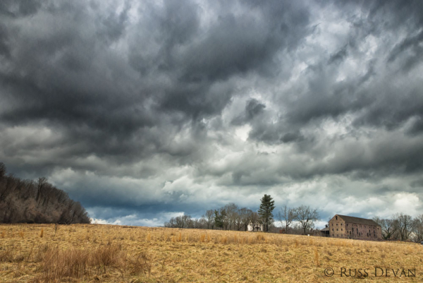 Storm Over Walnut Hill Farm II