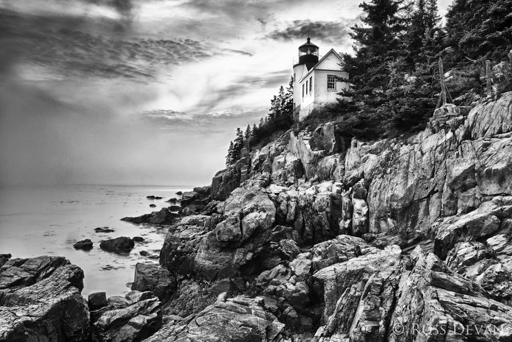 Bass Harbor Head Lighthouse, Mt. Desert Island, ME