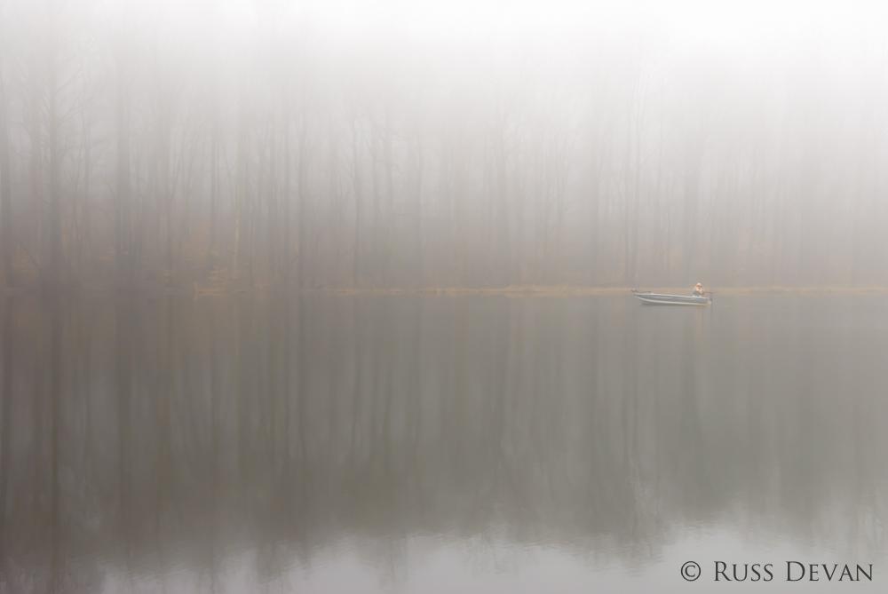 Fog On Scott's Run Lake