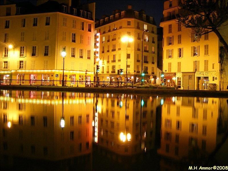Nocturne au canal St Martin