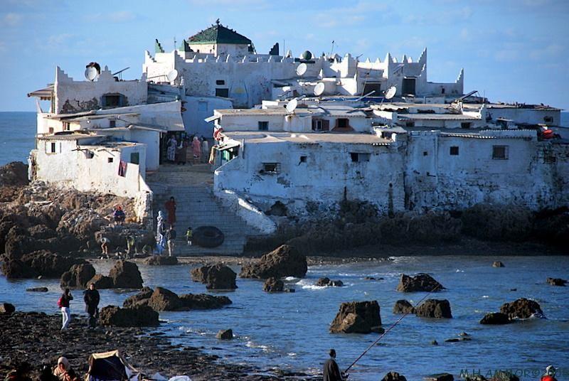 Le rocher de Sidi Abderrahmane