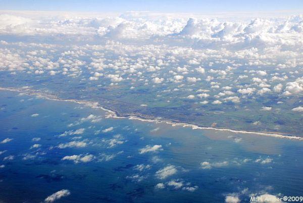 La côte atlantique Maroc
