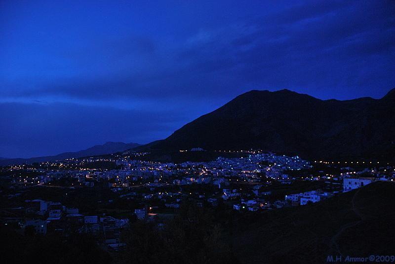 Le soir sur Chefchaouen