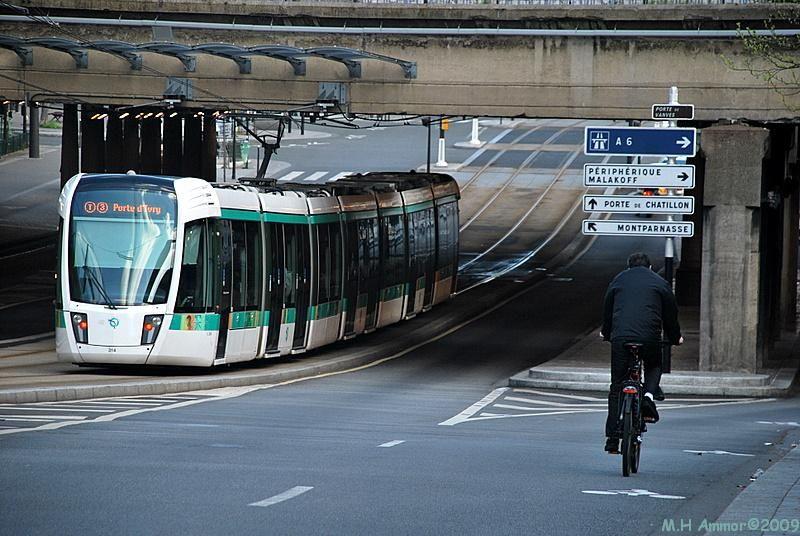 Paris - Le tramway