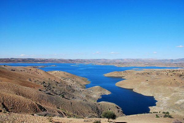 Lac de retenue du barrage El Hansali