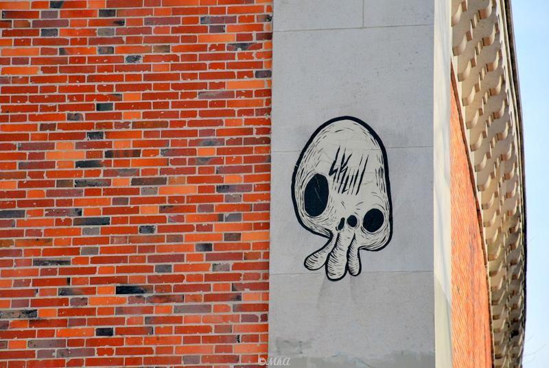 Skull- Street Art