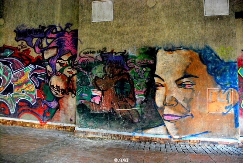 Les artistes à Montreuil- Street Art