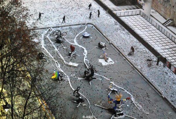 Snow days in Paris -4