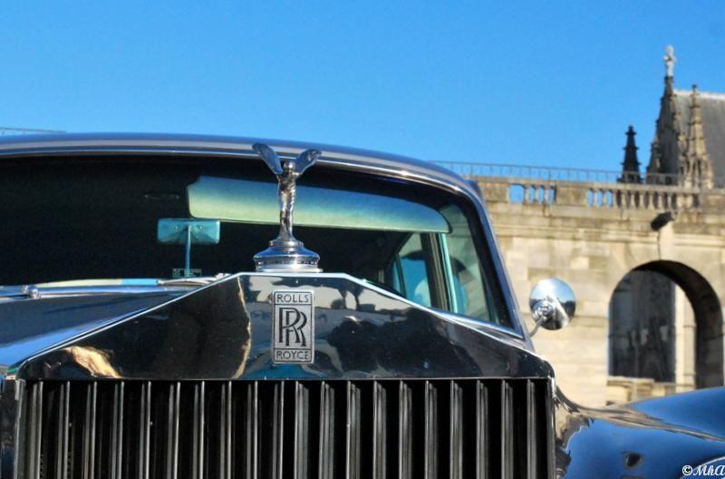 Une Rolls au château