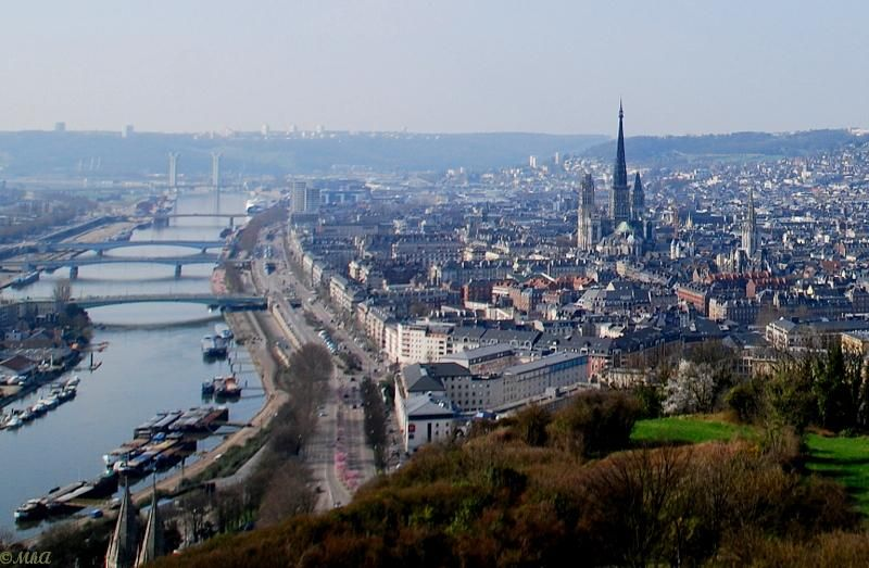 La Seine et la vieille ville