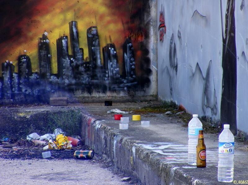 Les graffitis