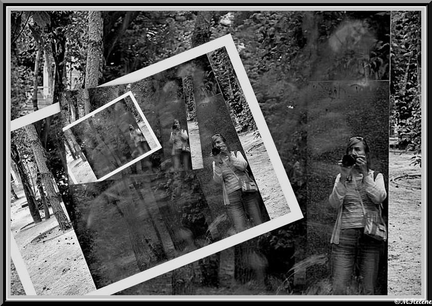 In the mirrors -Self Portrait Day - Monday May 30