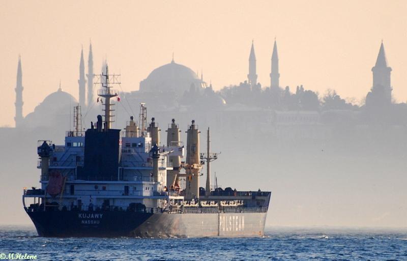 Sur la mer de Marmara
