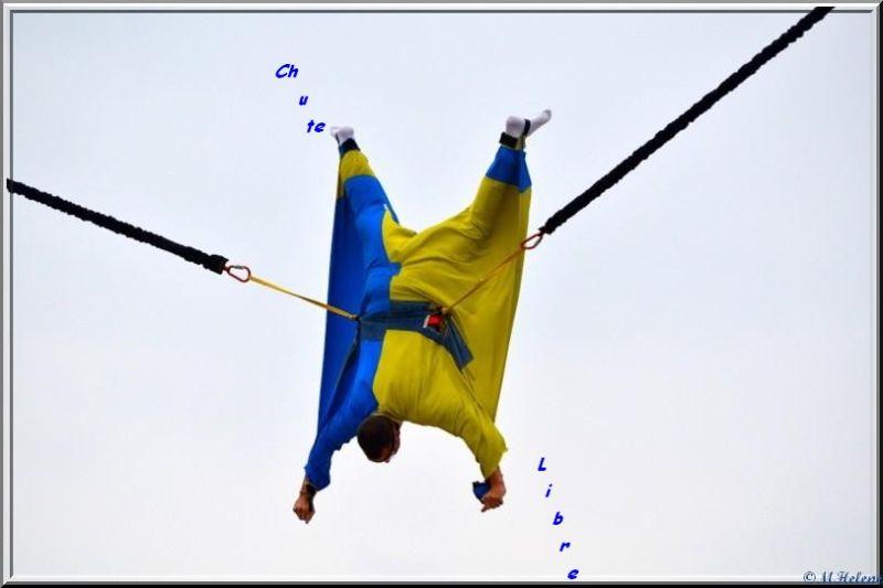 Free fall simulator
