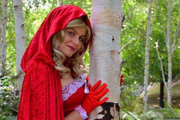 Le chaperon rouge dans les bois