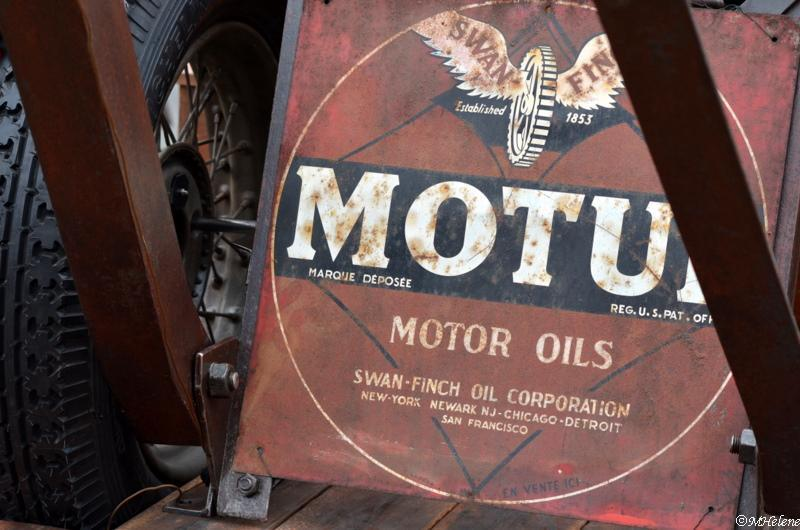 L 'huile de moteur