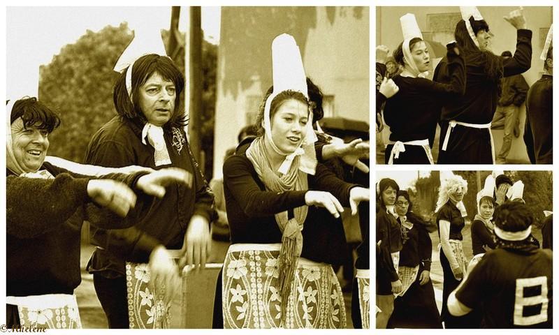 La haka des Bigoudens , au chouchen et...