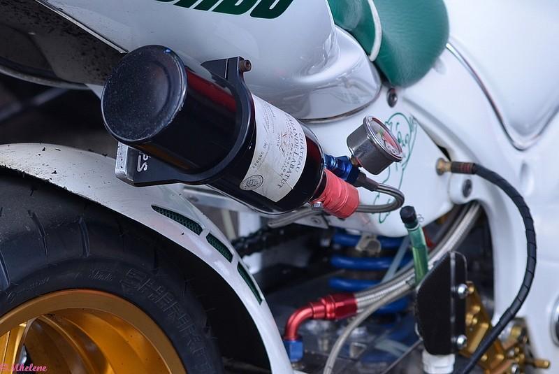 Du Bordeaux pour la moto