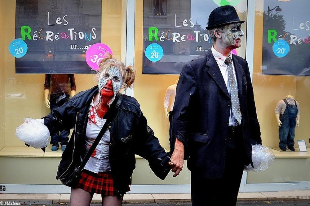 Les zombies dans Paris