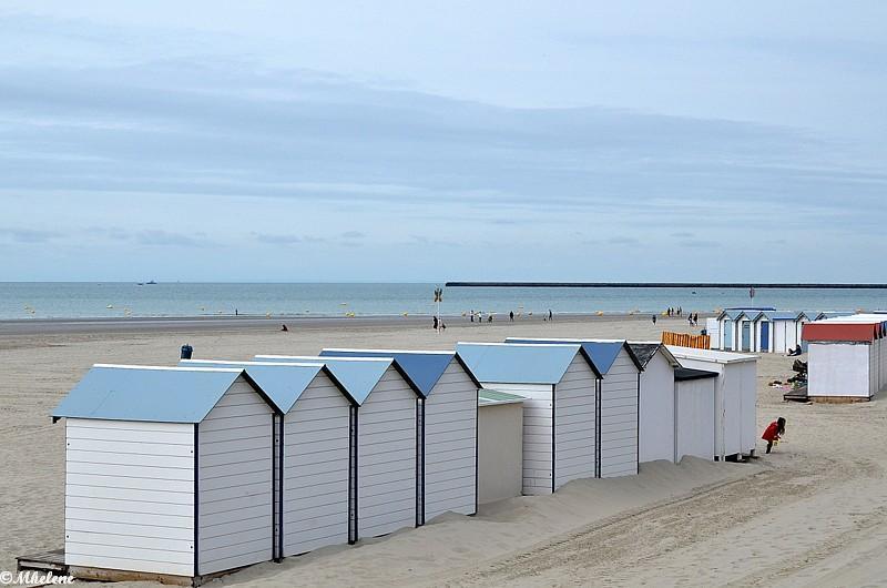 La plage à Boulogne-sur-Mer