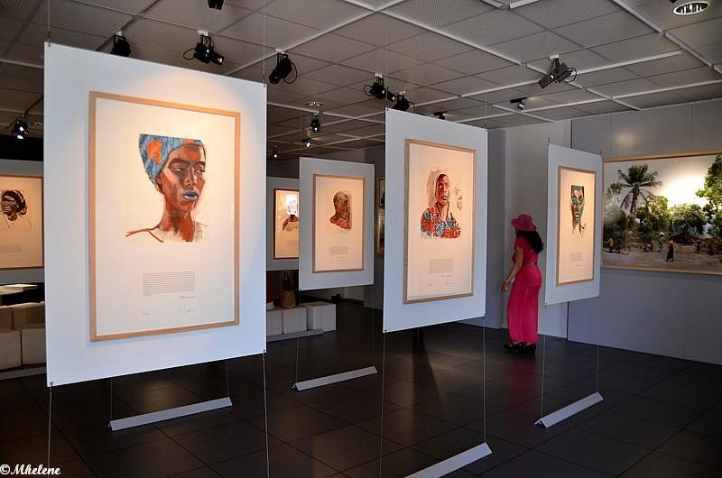 Une expo de Titouan Lamazou