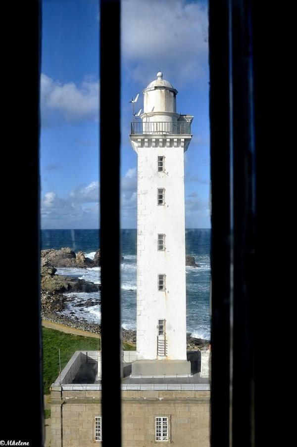 Les deux phares de l'île Vierge