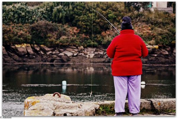 Pêche à l'Aber Ildut