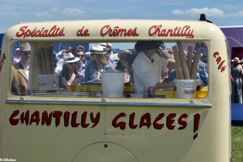 Une glace -à- Chantilly