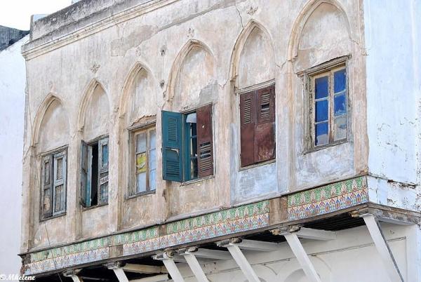 Le passé des maisons r'baties