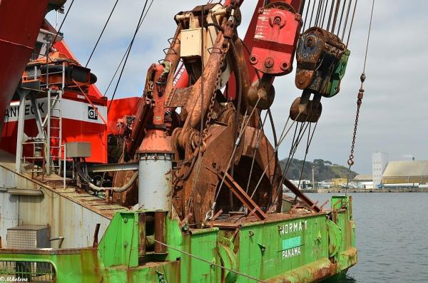 Le Norma 1 au port de Brest