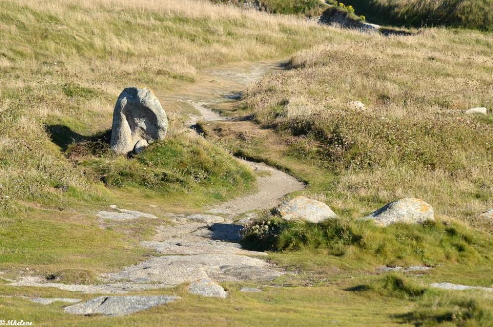Le chemin du rocher