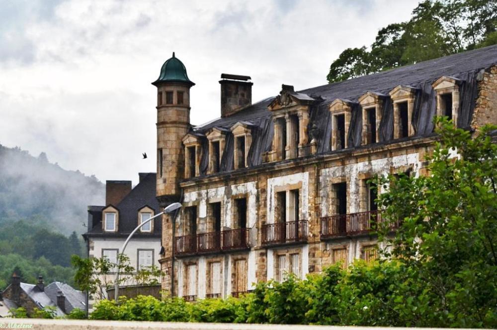 Les vieux hôtels de La Bourboule