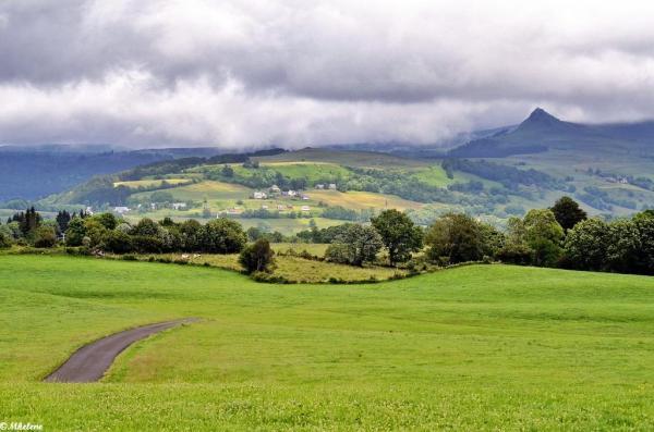 Paysage d'Auvergne