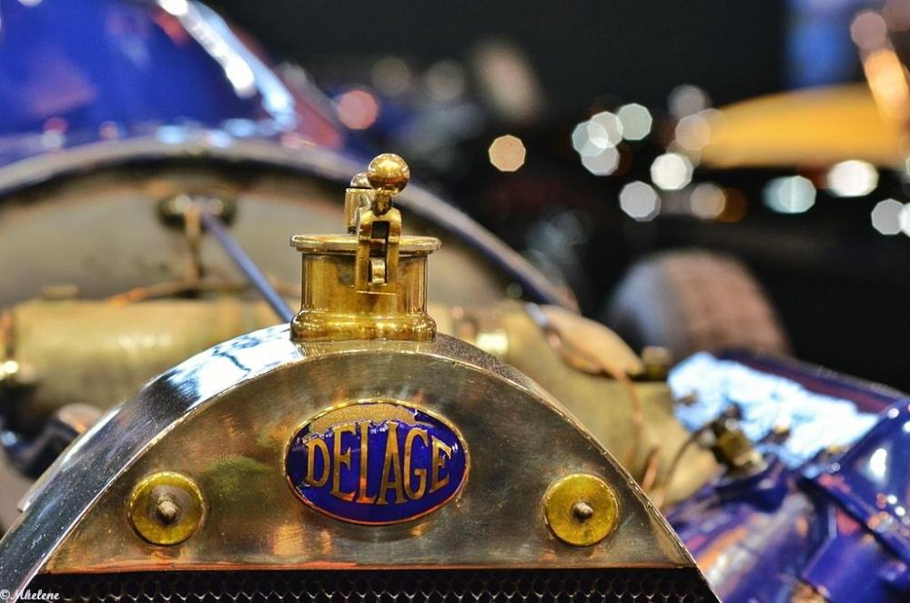 Delage à Retromobile