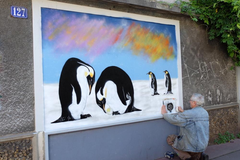 Street Artist Mosko