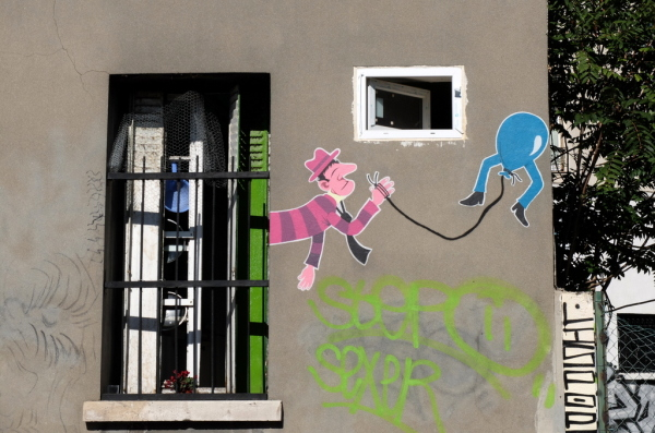 Street Art of Mister Pee