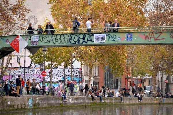 L'automne au bord du canal