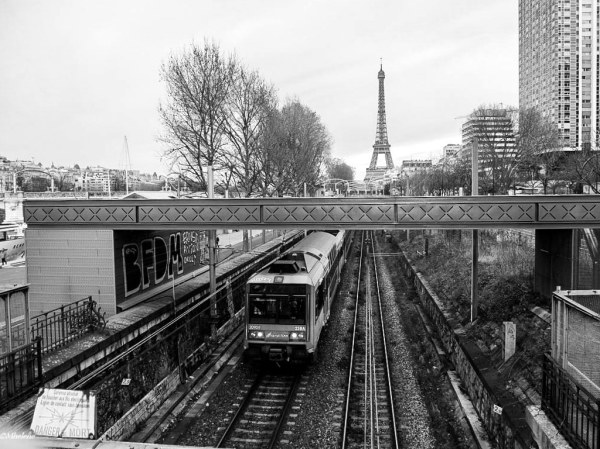RER dans la ville