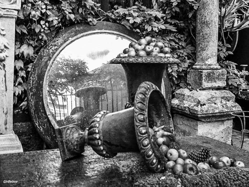 Le jardin de l'antiquaire
