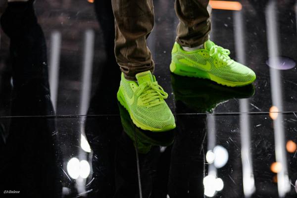 Les souliers verts