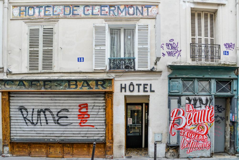 Les rues de Montmartre