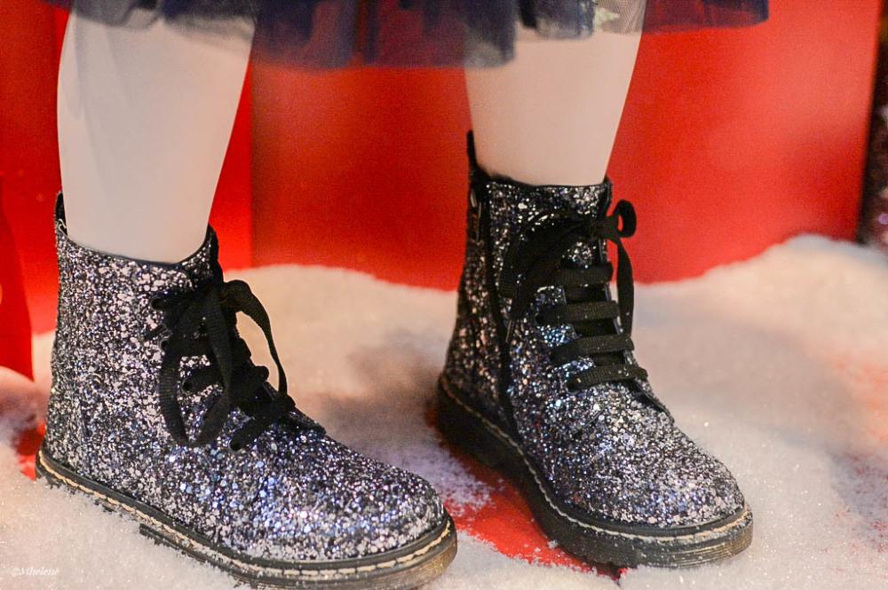 Paillettes aux  souliers