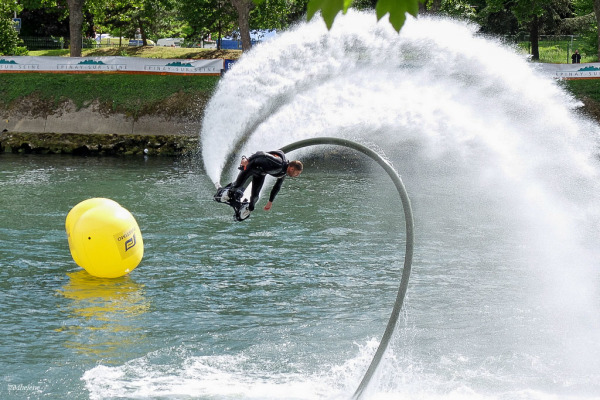 Flyboard on Silly Tuesday