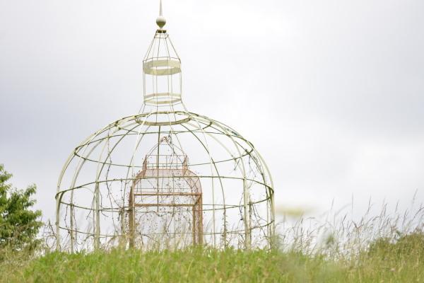 La cage encagée...