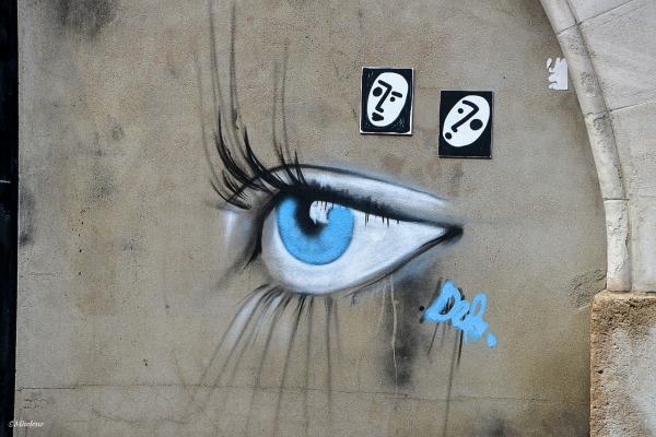 Oeil à la rue